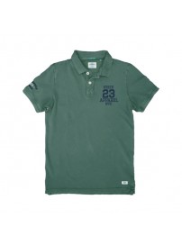 PS-221S Double Polo Pique (pesto)