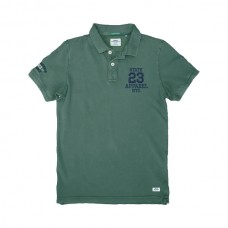PS-221SVA Double Polo Pique (μεγάλα μεγέθη) (pesto)
