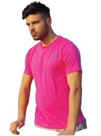 TS-10A Ανδρικό T-Shirt (Μεγάλα μεγέθη) Χρώμα Φουξ