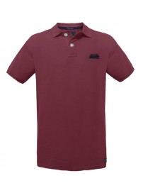 GS-33S 17 Double Ανδρικό Polo t-shirt Χρώμα Μπορντώ