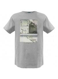 RTS-53 Rebase Ανδρικό κοντομάνικο t-shirt Χρώμα Γκρι