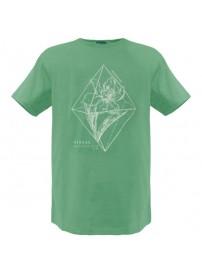 RTS-53 Rebase Ανδρικό κοντομάνικο t-shirt Χρώμα Πράσινο ανοιχτό