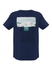 RTS-53 Rebase Ανδρικό κοντομάνικο t-shirt Χρώμα Μπλε