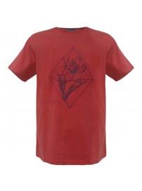 RTS-53 Rebase Ανδρικό κοντομάνικο t-shirt Χρώμα Κόκκινο