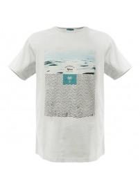 RTS-53 Rebase Ανδρικό κοντομάνικο t-shirt Χρώμα Λευκό