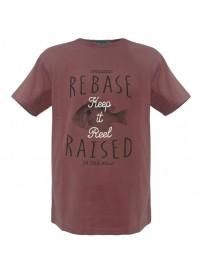 RTS-54 Rebase Ανδρικό κοντομάνικο t-shirt Χρώμα Μπορντώ