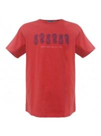 RTS-54 Rebase Ανδρικό κοντομάνικο t-shirt Χρώμα Κοραλί