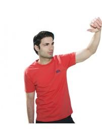 TS-11 Double Kοντομάνικο T-shirt Χρώμα Κοραλί