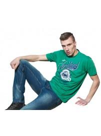 TS-16 Double Kοντομάνικο T-shirt Χρώμα Πράσινο
