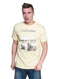 TS-19 Double Kοντομάνικο T-shirt Χρώμα Κίτρινο