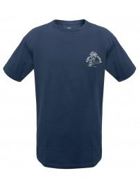 TS-38A 17 Double Ανδρικό t-shirt (μεγάλα μεγέθη) Χρώμα Μπλε ραφ