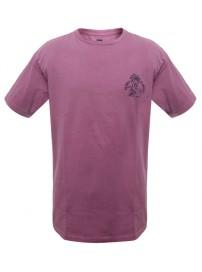 TS-38A 17 Double Ανδρικό t-shirt (μεγάλα μεγέθη) Χρώμα Μπορντώ