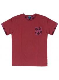 TS-39A 17 Double Ανδρικό t-shirt (μεγάλα μεγέθη) Χρώμα Κόκκινο