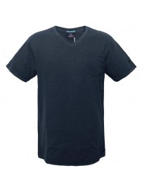TS-41A 17 Double Ανδρικό t-shirt (μεγάλα μεγέθη) Χρώμα Μπλε