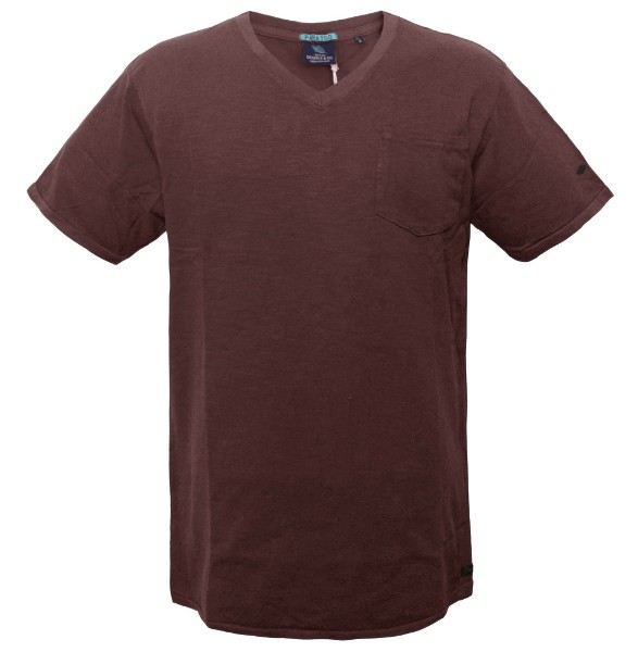 1d9c49b3958 TS-41 17 Double Ανδρικό t-shirt Χρώμα Μπορντώ