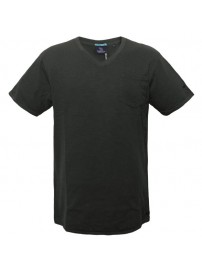 TS-41A 17 Double Ανδρικό t-shirt (μεγάλα μεγέθη) Χρώμα Γκρι