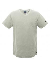 TS-41A 17 Double Ανδρικό t-shirt (μεγάλα μεγέθη) Χρώμα Εκρού