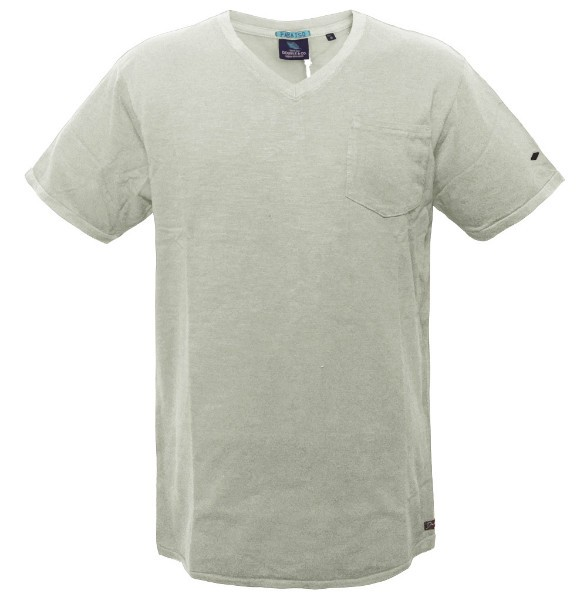 08840c55d25 TS-41 17 Double Ανδρικό t-shirt Χρώμα Εκρού