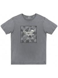 TS-52A Double Ανδρικό κοντομάνικο t-shirt (μεγάλα μεγέθη) Χρώμα Γκρι