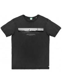 TS-53A Double Ανδρικό κοντομάνικο t-shirt (μεγάλα μεγέθη) Χρώμα Μαύρο