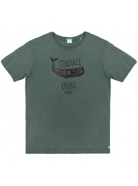 TS-53VA Double Ανδρικό κοντομάνικο t-shirt (μεγάλα μεγέθη) Χρώμα Πράσινο