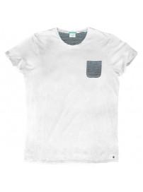 TS-56VA Double Ανδρικό κοντομάνικο t-shirt (μεγάλα μεγέθη) Χρώμα Λευκό