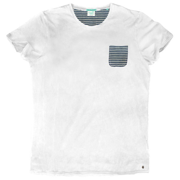de3dc148bfd0 TS-56A Double Ανδρικό κοντομάνικο t-shirt (μεγάλα μεγέθη) Χρώμα Λευκό