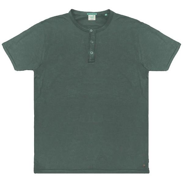 3390b9abe1c TS-64 Double Ανδρικό κοντομάνικο t-shirt Χρώμα Πράσινο