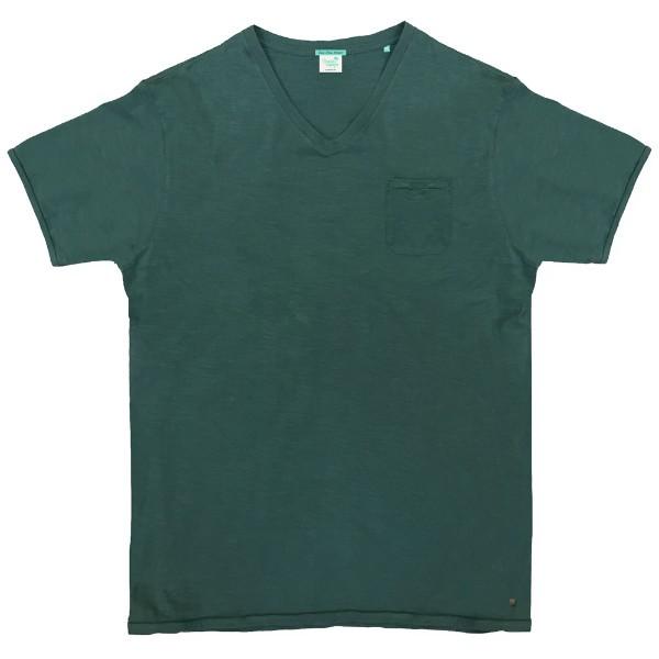 9586438fd4b TS-66 Double Ανδρικό κοντομάνικο t-shirt Χρώμα Πράσινο