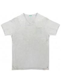 TS-66A Double Ανδρικό κοντομάνικο t-shirt (μεγάλα μεγέθη) Χρώμα Λευκό