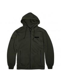 RMTOP 57A Full Zip Hoodie (μεγάλα μεγέθη) (Khaki)