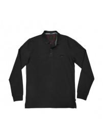 GS-36 Double Ανδρική μπλούζα πόλο πικέ (black)