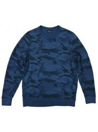 MTOP-35 Double Ανδρική μπλούζα Χρώμα Μπλε/Μαύρο
