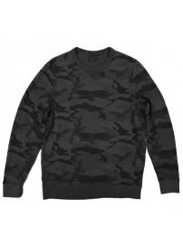 MTOP-35 Double Ανδρική μπλούζα Χρώμα Γκρι/Μαύρο
