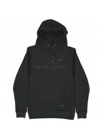 MTOP-44 Double Graphic Print Hoodie (black)