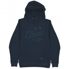 MTOP-44 Double Graphic Print Hoodie (blue navy)