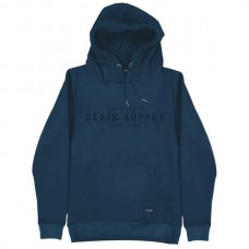 MTOP-44 Double Graphic Print Hoodie (denim)