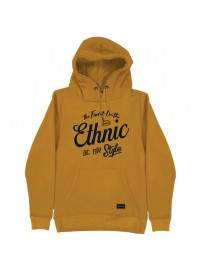 MTOP-44A Double Graphic Print Hoodie (μεγάλα μεγέθη)(mustard)