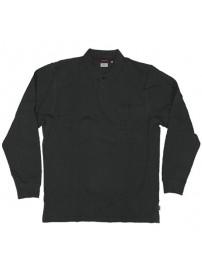 RGS-31A Rebase Ανδρική μπλούζα πόλο πικέ (μεγάλα μεγέθη) (black)