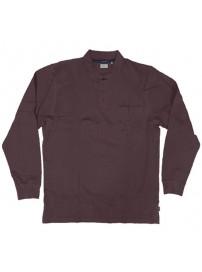 RGS-31A Rebase Ανδρική μπλούζα πόλο πικέ (μεγάλα μεγέθη) (bordeaux)