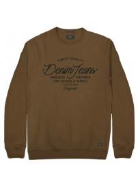 RMTOP-47 Rebase Graphic Print Sweatshirt (camel)