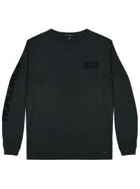 TS-108 Double T-shirt Peach Finish Rib Sleeve (black)