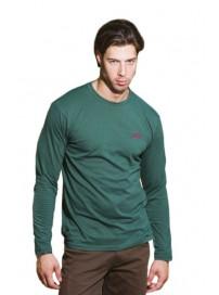 TS-23A Double Ανδρικό T-shirt με μακρύ μανίκι (μεγάλα μεγέθη) Χρώμα Πράσινο