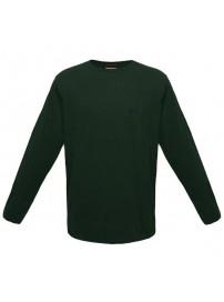 TS-49A Double Ανδρική μπλούζα μακό (μεγάλα μεγέθη) Χρώμα Πράσινο