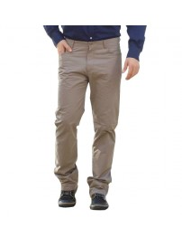 FP-201VA Ανδρικό παντελόνι (Μεγάλα μεγέθη) Χρώμα Μπεζ