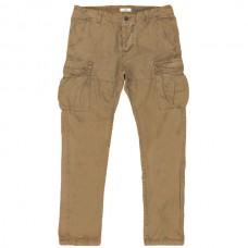 CCP-05A 18 Double Ανδρικό παντελόνι (μεγάλα μεγέθη) Χρώμα Μουσταρδί