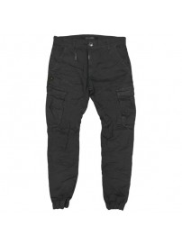 CCP-14 Double Chinos Cargo Pants (black)