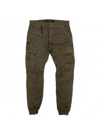 CCP-14 Double Chinos Cargo Pants (dark camel)