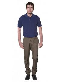 CP-203 Double Ανδρικό παντελόνι υφασμάτινο Χρώμα Λαδί