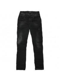 MJP-25A Double Ανδρικό παντελόνι jean (μεγάλα μεγέθη) Χρώμα Μαύρο